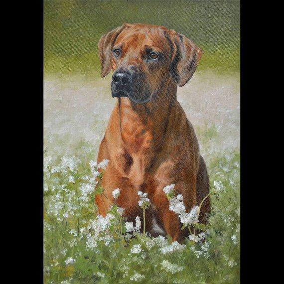Personalized Oil Painting From Photos, handcraft art on Canvas-Show Case KAR101198-48