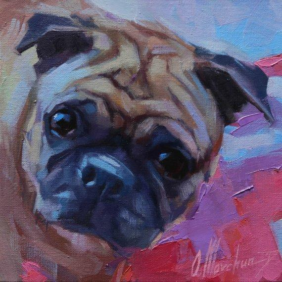 Personalized Oil Painting From Photos, handcraft art on Canvas-Show Case EOJ101686-20