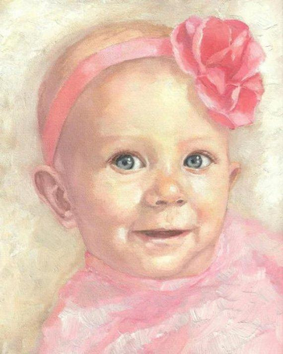 Personalized Oil Painting From Photos, handcraft art on Canvas-Show Case RMO100958-36
