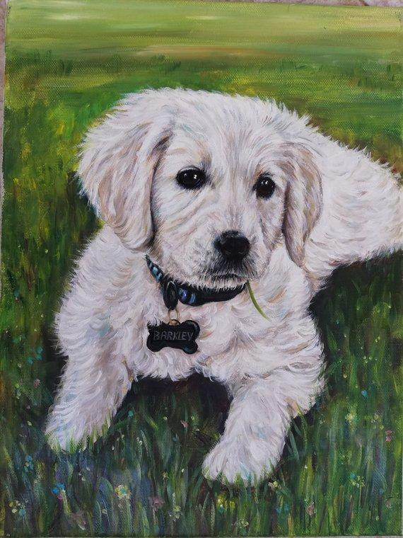 Personalized Oil Painting From Photos, handcraft art on Canvas-Show Case JPI102021-24