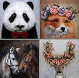 Personalized Oil Painting From Photos, handcraft art on Canvas-Show Case CGB101894-48