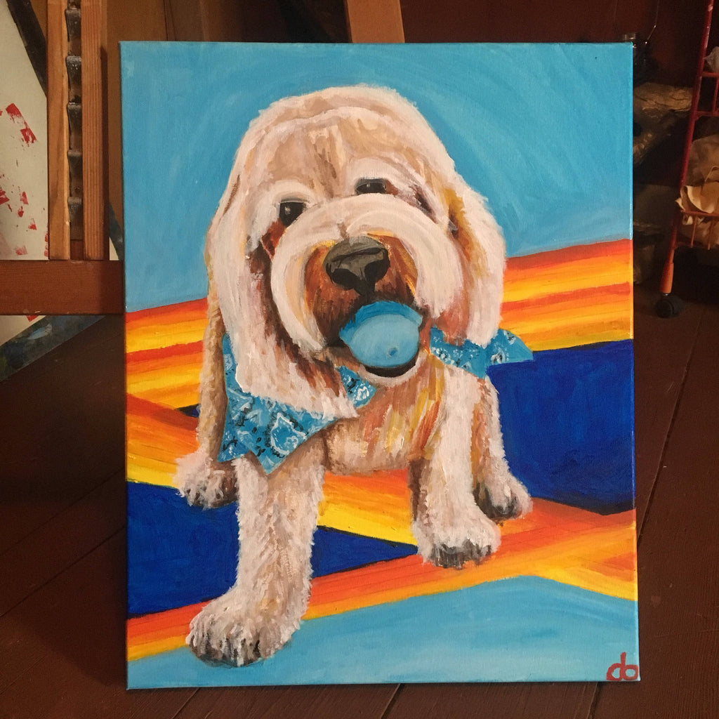 Personalized Oil Painting From Photos, handcraft art on Canvas-Show Case QFK102322-24