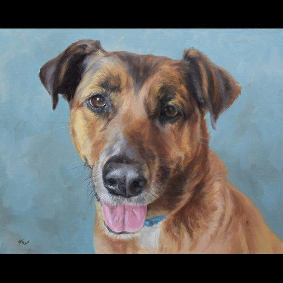 Personalized Oil Painting From Photos, handcraft art on Canvas-Show Case MFI101257-12