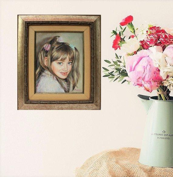 Personalized Oil Painting From Photos, handcraft art on Canvas-Show Case PED101931-24