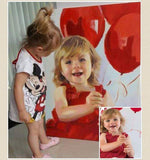 Personalized Oil Painting From Photos, handcraft art on Canvas-Show Case SGD102413-24