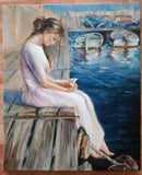Personalized Oil Painting From Photos, handcraft art on Canvas-Show Case KLM102616-20