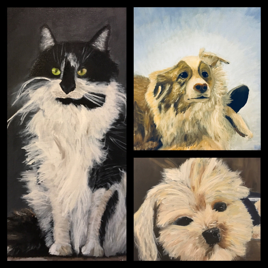 Personalized Oil Painting From Photos, handcraft art on Canvas-Show Case GPC101251-24