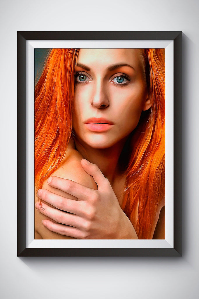 Personalized Oil Painting From Photos, handcraft art on Canvas-Show Case EBG102156-24