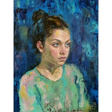Personalized Oil Painting From Photos, handcraft art on Canvas-Show Case THE102414-20