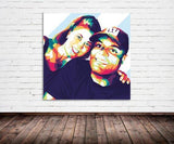 Personalized Oil Painting From Photos, handcraft art on Canvas-Show Case OIN101278-24