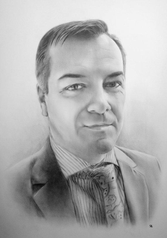 F&S Gift Store Custom portrait - Medium size dry brush portrait | Oil portrait, Oil painting, Portrait painting, Dry brush, Custom portrait from photo
