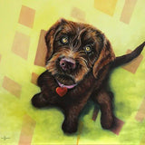 Personalized Oil Painting From Photos, handcraft art on Canvas-Show Case QNS101265-24