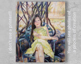 Personalized Oil Painting From Photos, handcraft art on Canvas-Show Case CCN101002-20