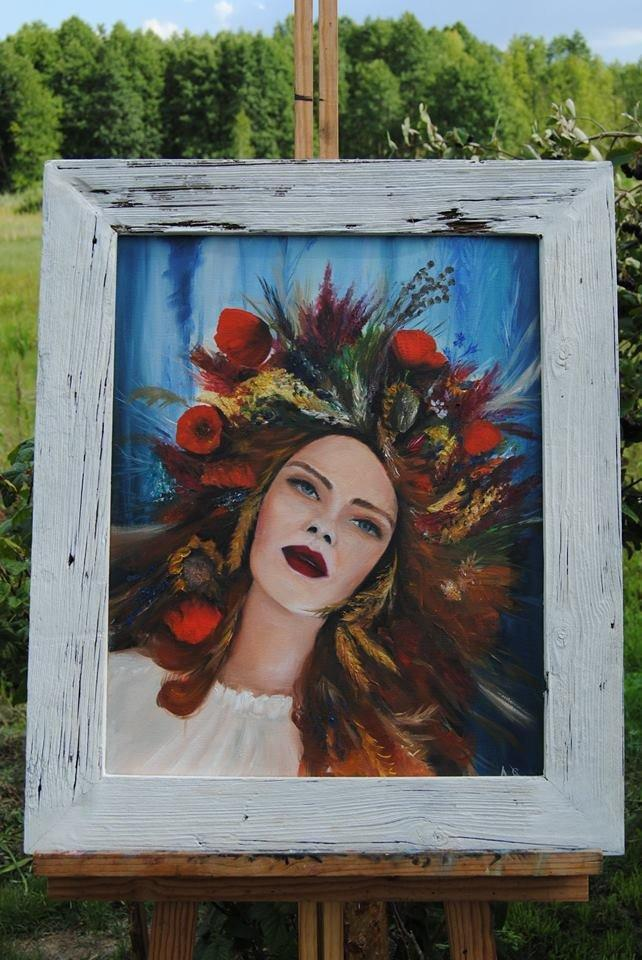 Personalized Oil Painting From Photos, handcraft art on Canvas-Show Case EAD102136-24