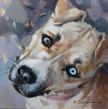 Personalized Oil Painting From Photos, handcraft art on Canvas-Show Case SAD101090-48