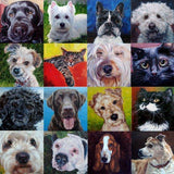 Personalized Oil Painting From Photos, handcraft art on Canvas-Show Case EKR102327-72