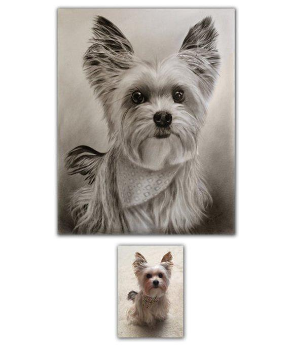 Personalized Oil Painting From Photos, handcraft art on Canvas-Show Case TCH102319-20