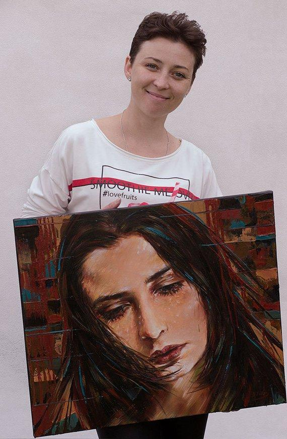 Personalized Oil Painting From Photos, handcraft art on Canvas-Show Case ONC102510-36
