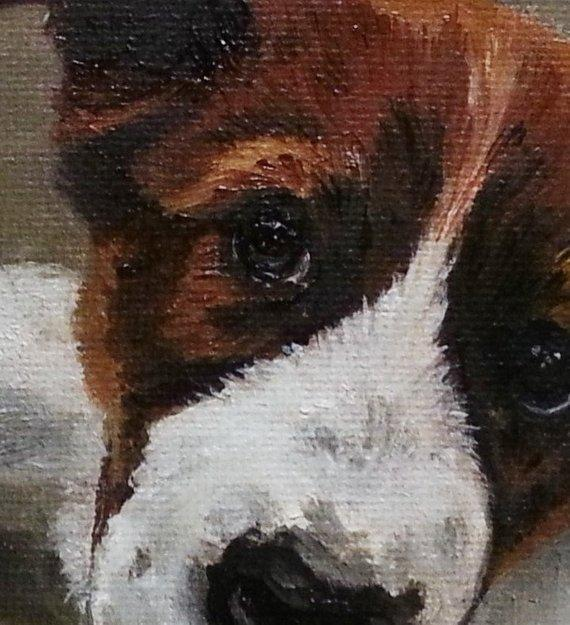 Personalized Oil Painting From Photos, handcraft art on Canvas-Show Case ENG101175-48
