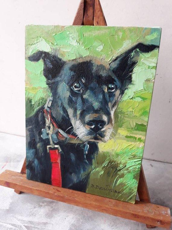 Personalized Oil Painting From Photos, handcraft art on Canvas-Show Case NAJ101144-48