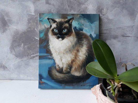 Personalized Oil Painting From Photos, handcraft art on Canvas-Show Case FAH102497-36
