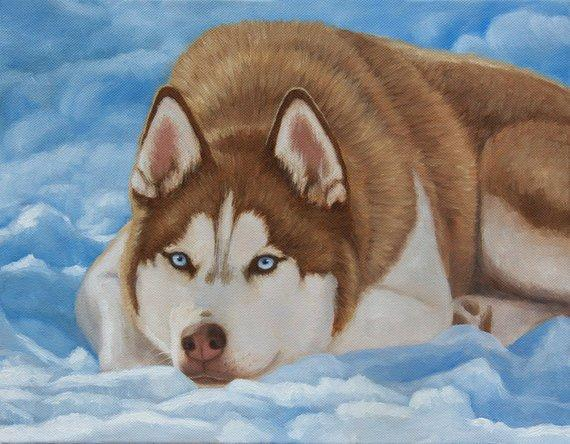 Personalized Oil Painting From Photos, handcraft art on Canvas-Show Case AHO101133-36