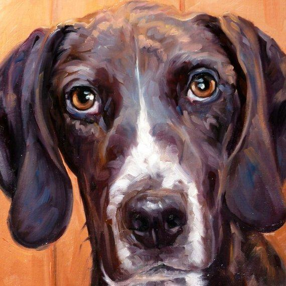 Personalized Oil Painting From Photos, handcraft art on Canvas-Show Case TAN101888-20