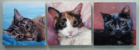 Personalized Oil Painting From Photos, handcraft art on Canvas-Show Case PIR102011-36