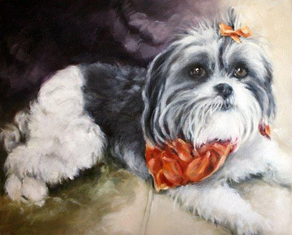 Personalized Oil Painting From Photos, handcraft art on Canvas-Show Case HPA101233-20
