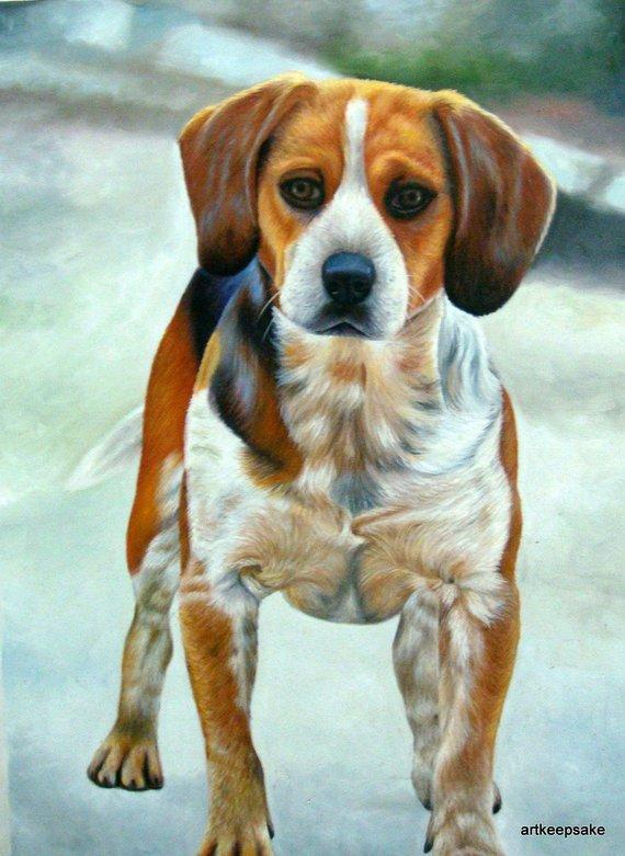 Personalized Oil Painting From Photos, handcraft art on Canvas-Show Case SLG101719-48