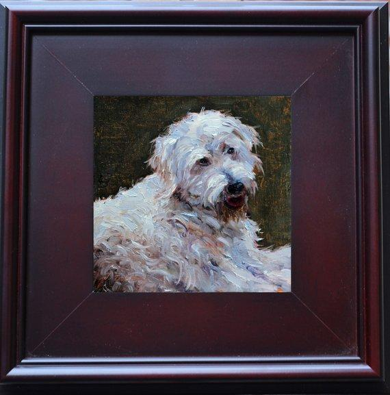 Personalized Oil Painting From Photos, handcraft art on Canvas-Show Case MPC101964-36