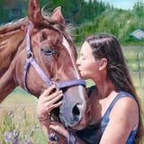 Personalized Oil Painting From Photos, handcraft art on Canvas-Show Case SPM101887-20