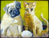 Personalized Oil Painting From Photos, handcraft art on Canvas-Show Case BGJ101096-24
