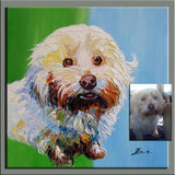 Personalized Oil Painting From Photos, handcraft art on Canvas-Show Case JGL102161-30