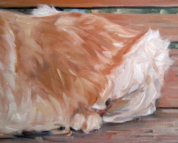 Personalized Oil Painting From Photos, handcraft art on Canvas-Show Case FLS102328-24