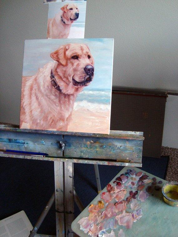 Personalized Oil Painting From Photos, handcraft art on Canvas-Show Case NNA101821-20