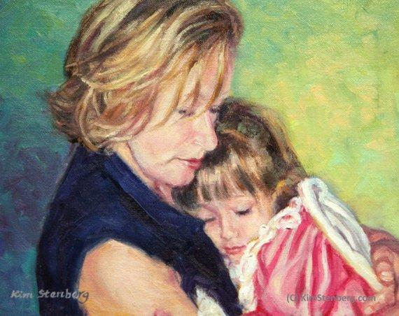 Personalized Oil Painting From Photos, handcraft art on Canvas-Show Case KPG102002-48