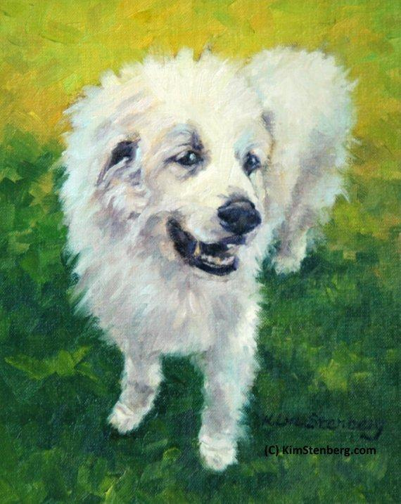 Personalized Oil Painting From Photos, handcraft art on Canvas-Show Case GHO101835-36