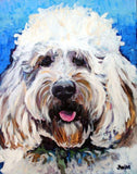 Personalized Oil Painting From Photos, handcraft art on Canvas-Show Case CTS102115-12