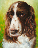 Personalized Oil Painting From Photos, handcraft art on Canvas-Show Case SIJ102451-48