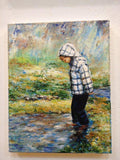 Personalized Oil Painting From Photos, handcraft art on Canvas-Show Case IAB102443-36