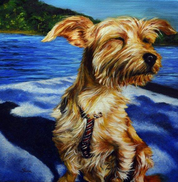 Personalized Oil Painting From Photos, handcraft art on Canvas-Show Case OIB101696-12