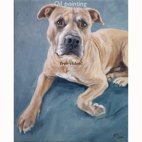 Personalized Oil Painting From Photos, handcraft art on Canvas-Show Case KMJ102257-12