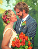 Personalized Oil Painting From Photos, handcraft art on Canvas-Show Case LKH102579-24