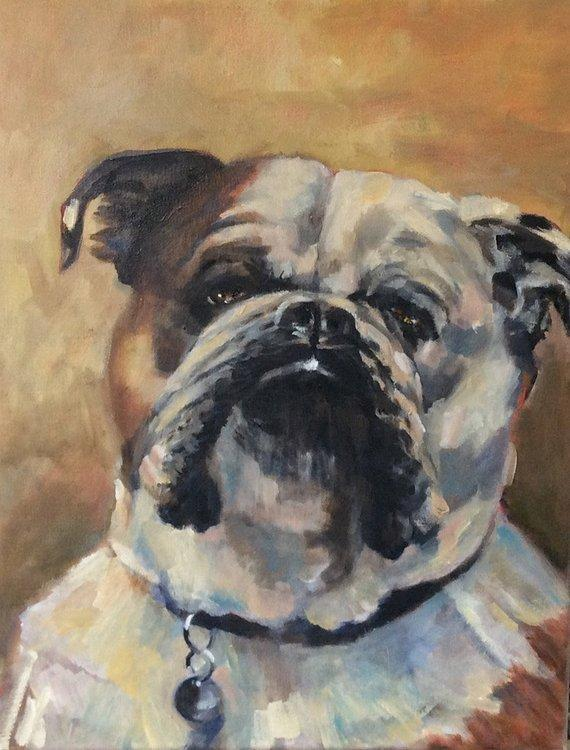 Personalized Oil Painting From Photos, handcraft art on Canvas-Show Case INS102312-24