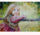 Personalized Oil Painting From Photos, handcraft art on Canvas-Show Case FFE101383-24