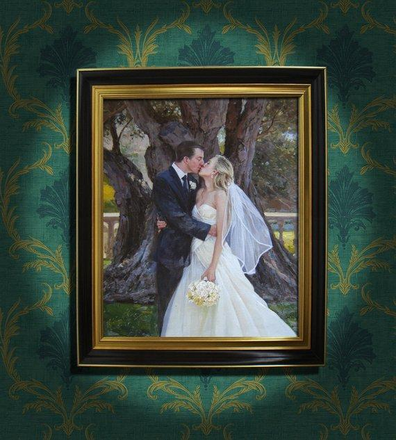 Personalized Oil Painting From Photos, handcraft art on Canvas-Show Case FFE102592-24