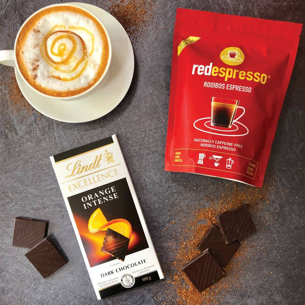 Lindt and red espresso® Rooibos