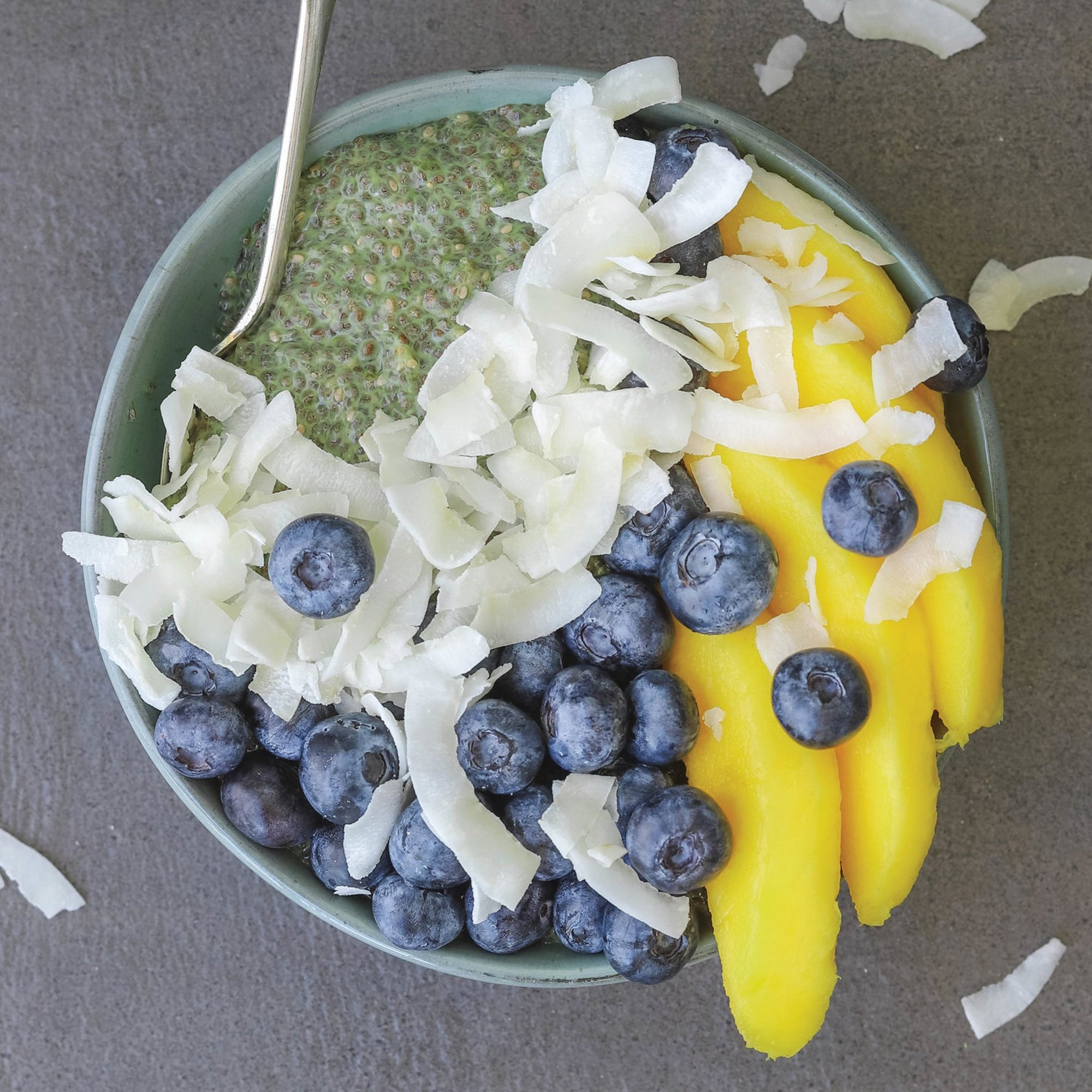 Matcha chia pudding recipe