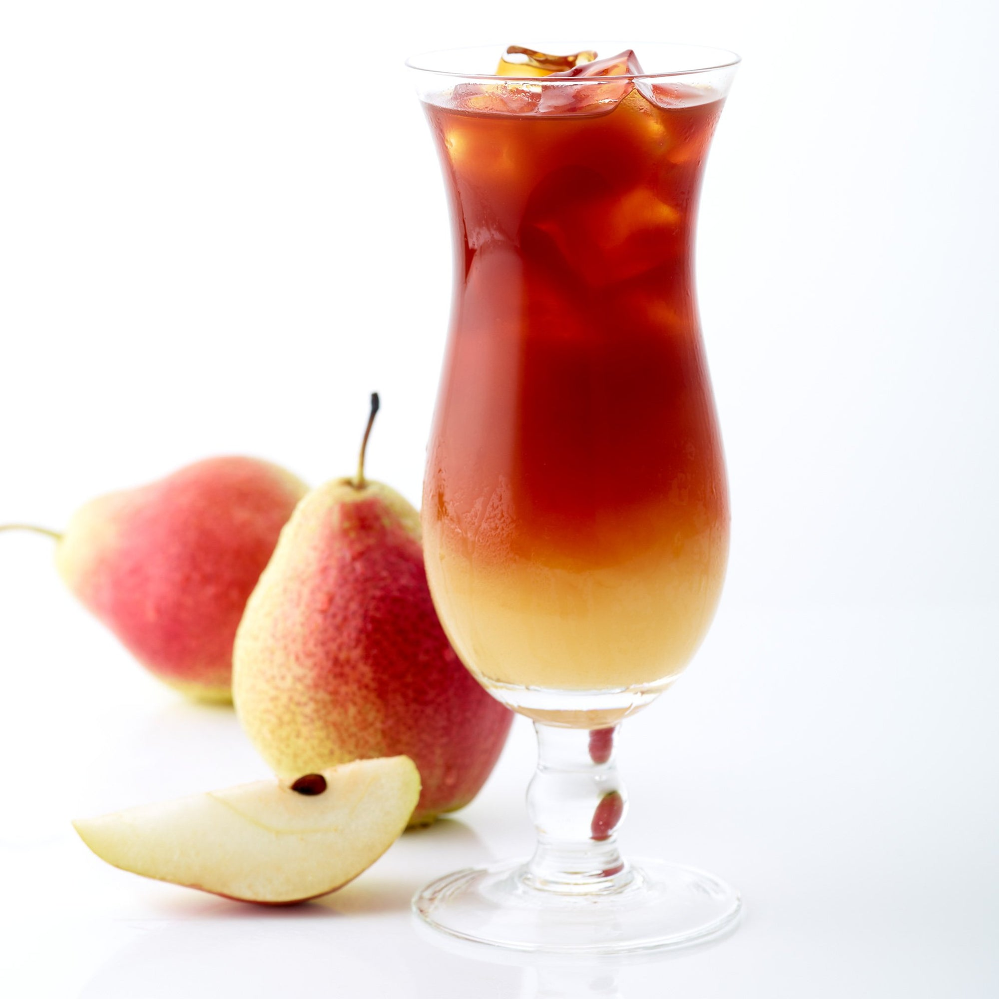 Fresh red® pear iced tea
